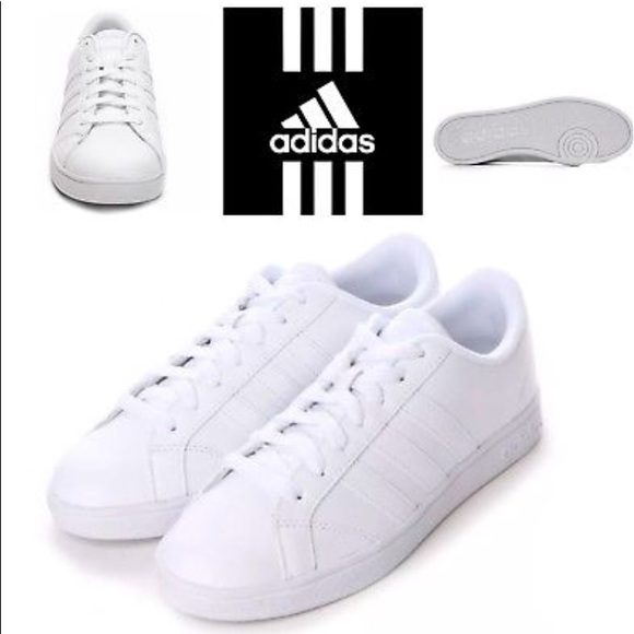 Adidas Neo Baseline Wht Leather Sneaker